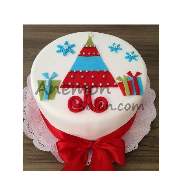 Cake New Year Cakes Delivery in Yerevan 0015