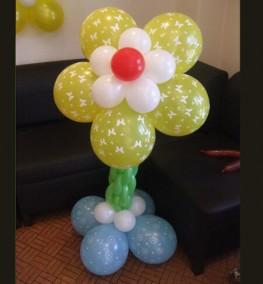 Yellow Flower balloon