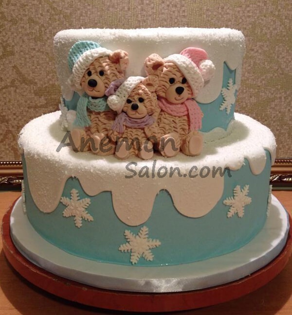 Cake New Year Cakes Delivery In Yerevan 0020