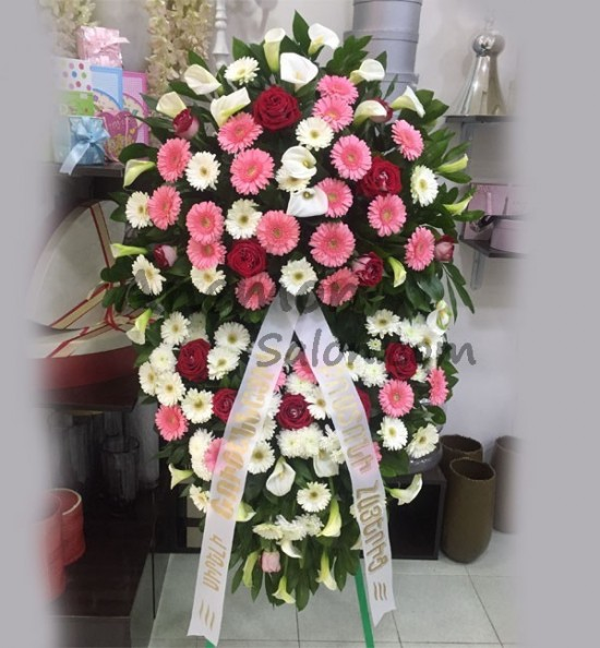 Wreath Funeral Flowers Yerevan Armenia