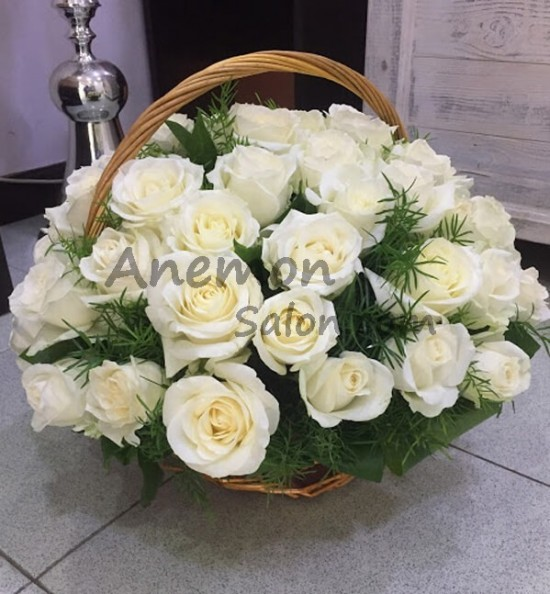 51 Rose Basket