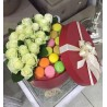 White Roses and Macaroons